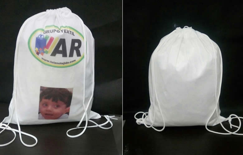 morrales para sublimar-bolsas mexico